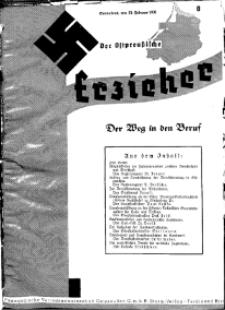 Der Ostpreussische Erzieher : das Schullandheim , 1935, H. 8.