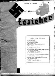 Der Ostpreussische Erzieher : das Schullandheim , 1935, H. 9.