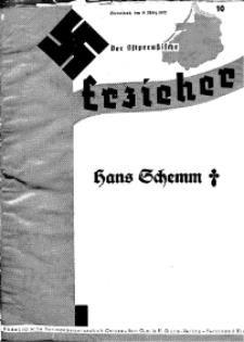 Der Ostpreussische Erzieher : das Schullandheim , 1935, H. 10.