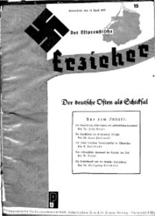 Der Ostpreussische Erzieher : das Schullandheim , 1935, H. 15.