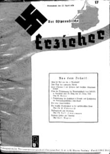 Der Ostpreussische Erzieher : das Schullandheim , 1935, H. 17.