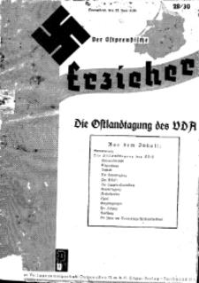 Der Ostpreussische Erzieher : das Schullandheim , 1935, H. 28/30.