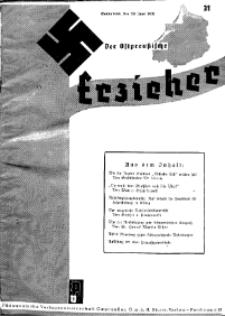 Der Ostpreussische Erzieher : das Schullandheim , 1935, H. 31.