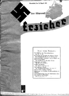 Der Ostpreussische Erzieher : das Schullandheim , 1935, H. 35.
