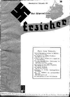 Der Ostpreussische Erzieher : das Schullandheim , 1935, H. 36.