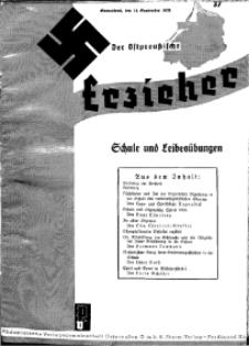 Der Ostpreussische Erzieher : das Schullandheim , 1935, H. 37.
