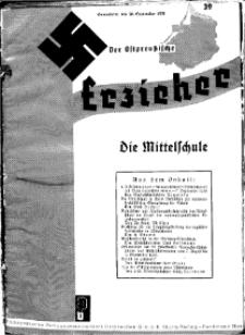 Der Ostpreussische Erzieher : das Schullandheim , 1935, H. 39.