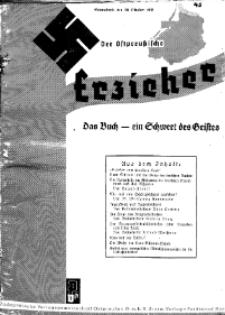 Der Ostpreussische Erzieher : das Schullandheim , 1935, H. 43.