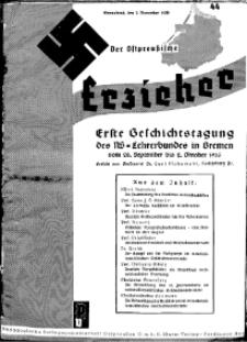 Der Ostpreussische Erzieher : das Schullandheim , 1935, H. 44.