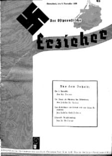 Der Ostpreussische Erzieher : das Schullandheim , 1935, H. 45.