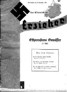 Der Ostpreussische Erzieher : das Schullandheim , 1935, H. 47.