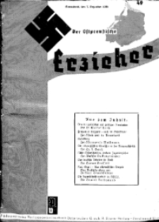 Der Ostpreussische Erzieher : das Schullandheim , 1935, H. 49.