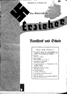 Der Ostpreussische Erzieher : das Schullandheim , 1935, H. 50.