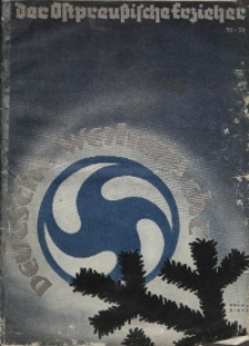 Deutsche Weihenacht, (Beilage), 1935, H. 51-52