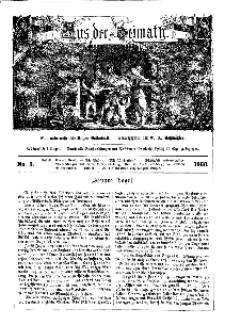 Aus der Heimath. Ein naturwissenschaftliches Volksblatt, 1860, No. 3.