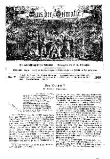 Aus der Heimath. Ein naturwissenschaftliches Volksblatt, 1860, No. 7.