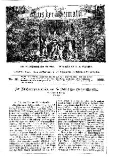Aus der Heimath. Ein naturwissenschaftliches Volksblatt, 1860, No. 12.