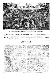 Aus der Heimath. Ein naturwissenschaftliches Volksblatt, 1860, No. 16.