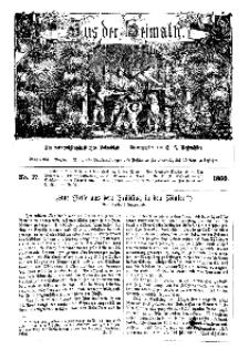 Aus der Heimath. Ein naturwissenschaftliches Volksblatt, 1860, No. 17.