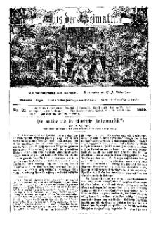 Aus der Heimath. Ein naturwissenschaftliches Volksblatt, 1860, No. 21.