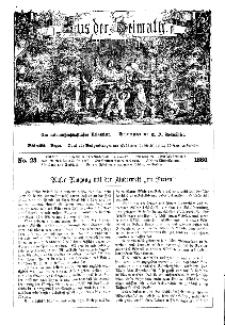 Aus der Heimath. Ein naturwissenschaftliches Volksblatt, 1860, No. 23.