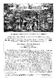 Aus der Heimath. Ein naturwissenschaftliches Volksblatt, 1860, No. 26.