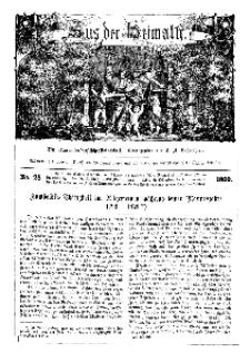 Aus der Heimath. Ein naturwissenschaftliches Volksblatt, 1860, No. 28.