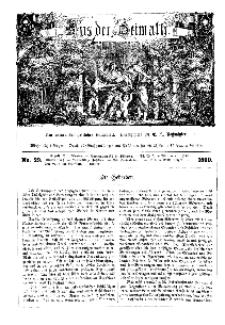 Aus der Heimath. Ein naturwissenschaftliches Volksblatt, 1860, No. 29.