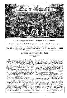 Aus der Heimath. Ein naturwissenschaftliches Volksblatt, 1860, No. 32.