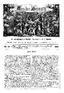Aus der Heimath. Ein naturwissenschaftliches Volksblatt, 1860, No. 35.