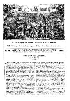 Aus der Heimath. Ein naturwissenschaftliches Volksblatt, 1860, No. 46.