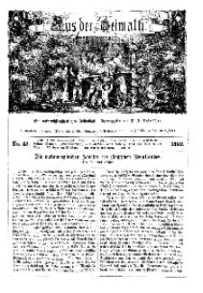 Aus der Heimath. Ein naturwissenschaftliches Volksblatt, 1860, No. 47.