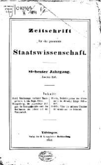 Zeitschrift für die gesammte Wissenschaft, 1851, H. 2.