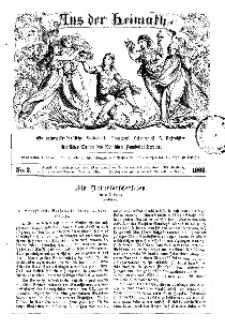 Aus der Heimath. Ein naturwissenschaftliches Volksblatt, 1863, No. 3.