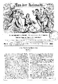 Aus der Heimath. Ein naturwissenschaftliches Volksblatt, 1863, No. 4.