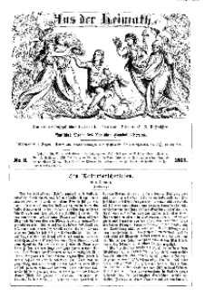 Aus der Heimath. Ein naturwissenschaftliches Volksblatt, 1863, No. 8.