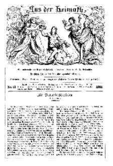 Aus der Heimath. Ein naturwissenschaftliches Volksblatt, 1863, No. 10.