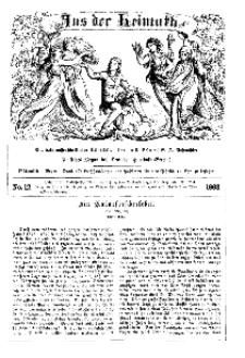Aus der Heimath. Ein naturwissenschaftliches Volksblatt, 1863, No. 12.