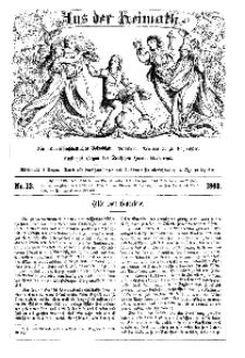 Aus der Heimath. Ein naturwissenschaftliches Volksblatt, 1863, No. 13.