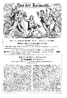 Aus der Heimath. Ein naturwissenschaftliches Volksblatt, 1863, No. 15.