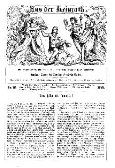 Aus der Heimath. Ein naturwissenschaftliches Volksblatt, 1863, No. 16.