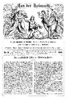 Aus der Heimath. Ein naturwissenschaftliches Volksblatt, 1863, No. 18.