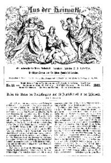 Aus der Heimath. Ein naturwissenschaftliches Volksblatt, 1863, No. 19.