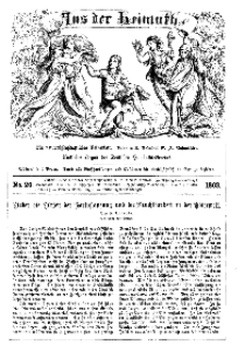 Aus der Heimath. Ein naturwissenschaftliches Volksblatt, 1863, No. 20.