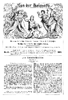 Aus der Heimath. Ein naturwissenschaftliches Volksblatt, 1863, No. 21.