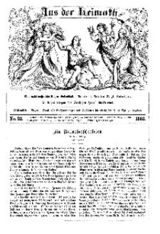 Aus der Heimath. Ein naturwissenschaftliches Volksblatt, 1863, No. 23.