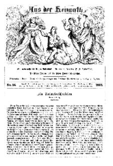 Aus der Heimath. Ein naturwissenschaftliches Volksblatt, 1863, No. 24.