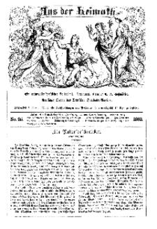 Aus der Heimath. Ein naturwissenschaftliches Volksblatt, 1863, No. 25.