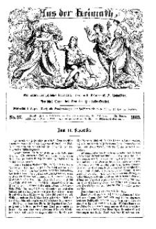 Aus der Heimath. Ein naturwissenschaftliches Volksblatt, 1863, No. 37.