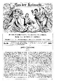 Aus der Heimath. Ein naturwissenschaftliches Volksblatt, 1863, No. 38.